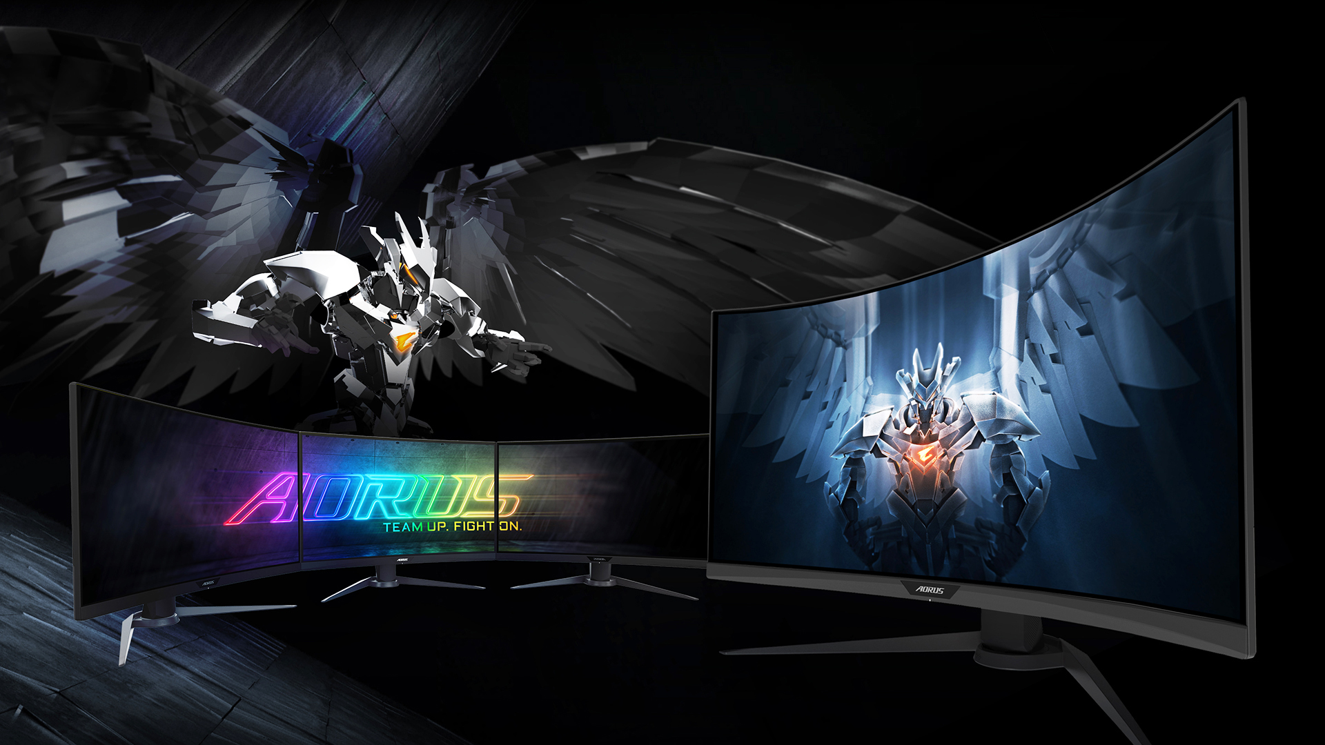 The Gigabyte Aorus CV27Q has a higher refresh rate that any TVs out there.