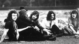 King Crimson lounging around in 1969