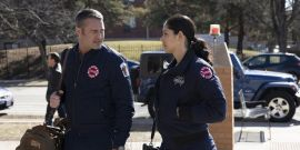 Why Chicago Fire's Taylor Kinney And Miranda Rae Mayo Are Still Hopeful About Stellaride In Season 9