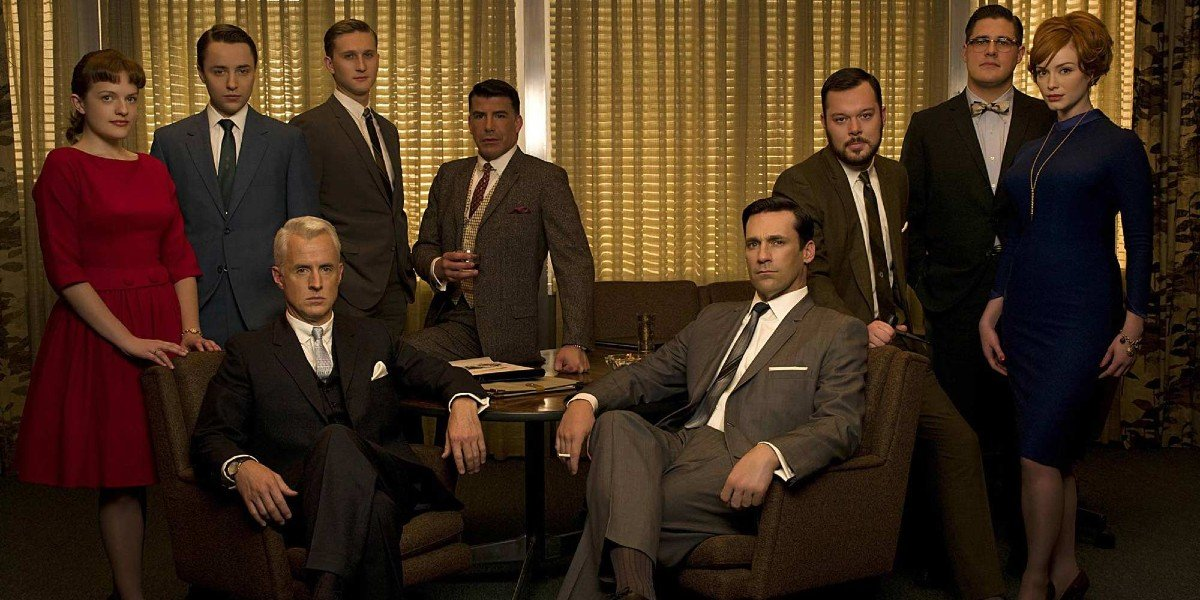 The Cast of AMC's Mad Men