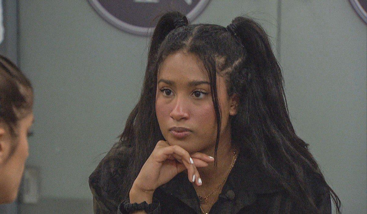 Hannah talking to Alyssa Big Brother CBS
