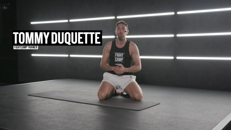Tommy's 8- Minute Pacquiao Inspired Core Workout
