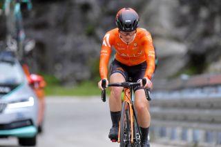 Heidi Franz (Rally Cycling) at the Giro d'Italia Donne