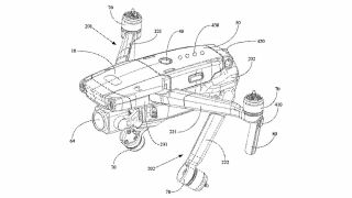 Patent for DJI Mavic 3 leaked?