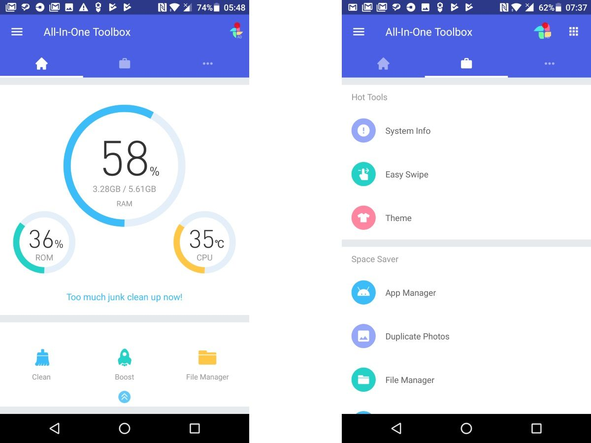 Best Android Cleaner 2019 - Apps to Maximize Android's Performance