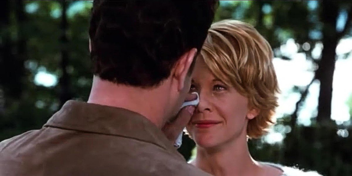 Meg Ryan and Tom Hanks in You've Got Mail