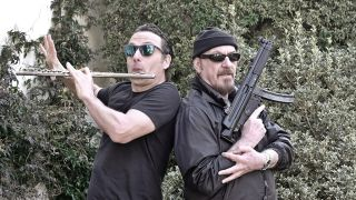 Ian Anderson and Andrew Lincoln