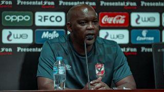 Al Ahly head coach Pitso Mosimane