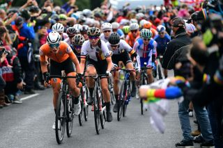Women's peloton at the UCI Road World Championships