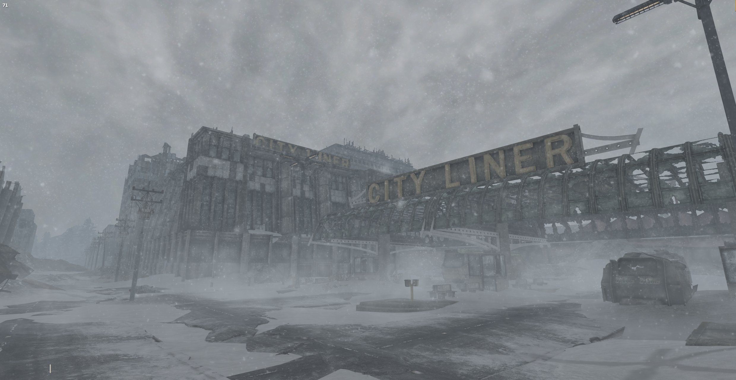 An image from Fallout New Vegas mod The Frontier