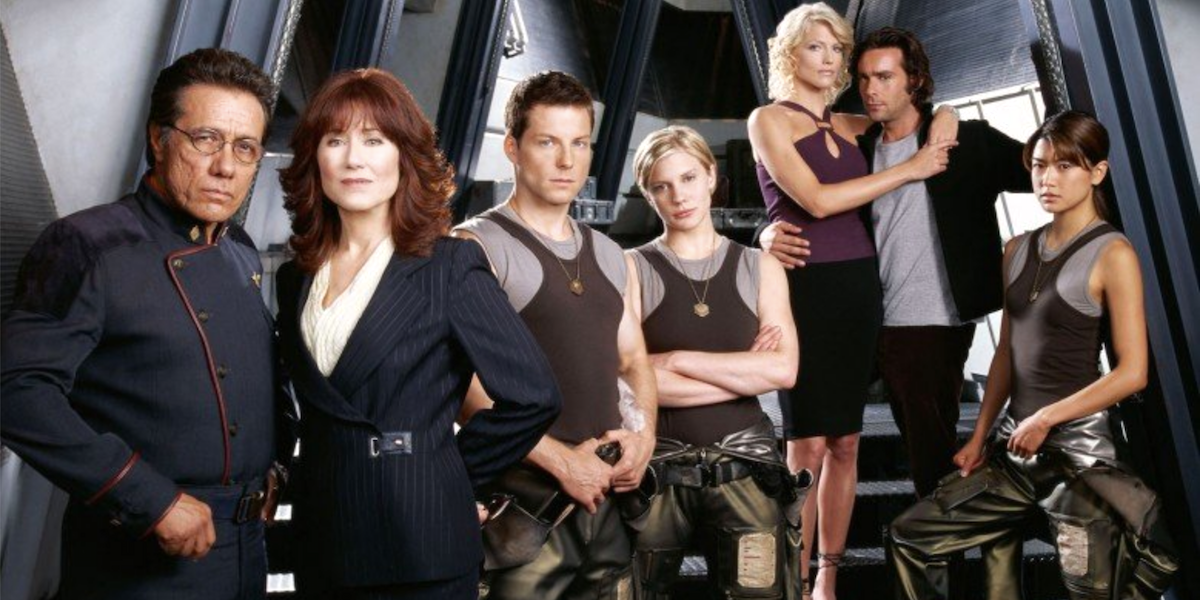 cast of Battlestar Galactica