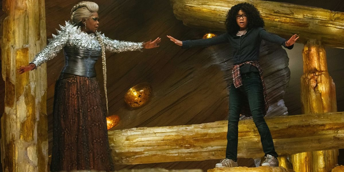 Oprah and Storm Reid in A Wrinkle in Time
