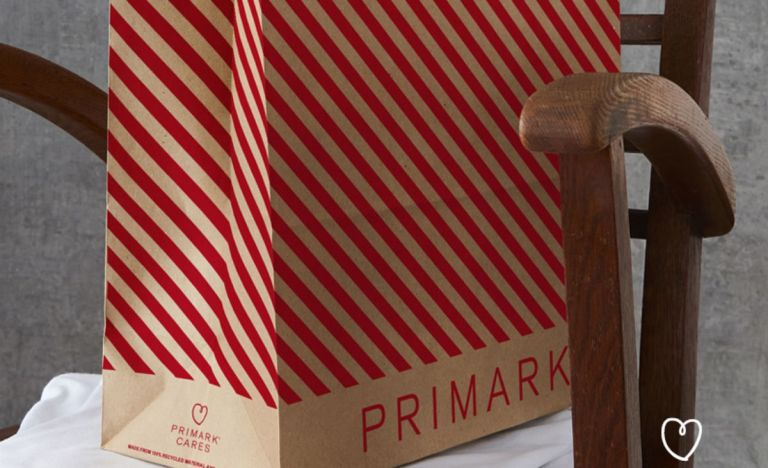 Primark shopping bag wrapping paper