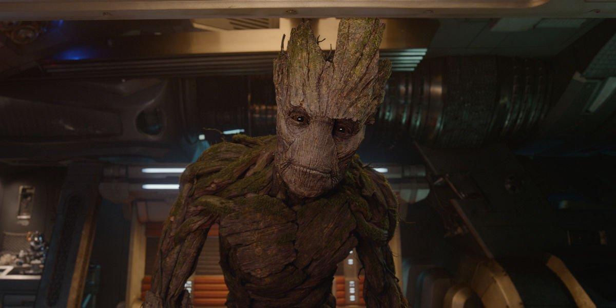 Vin Diesel as Groot in Guardians of the Galaxy