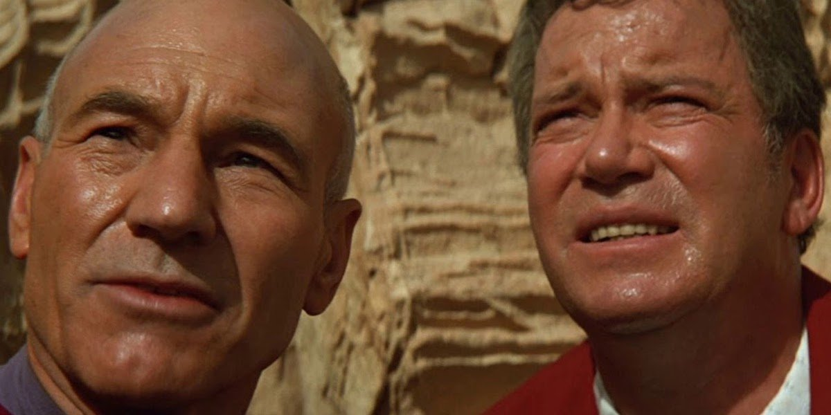 That Time William Shatner Advised Patrick Stewart To Wear Silk Stockings While Filming Star Trek Generations