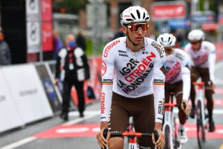 Oliver Naesen (AG2R Citroën) at the start of the Arctic Race of Norway