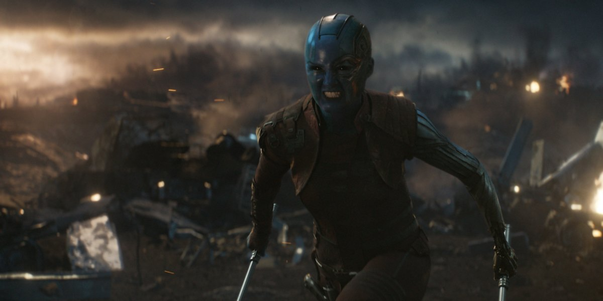 Why Guardians Of The Galaxy's Karen Gillan Thinks Nebula's Story Is 'Just Beginning'