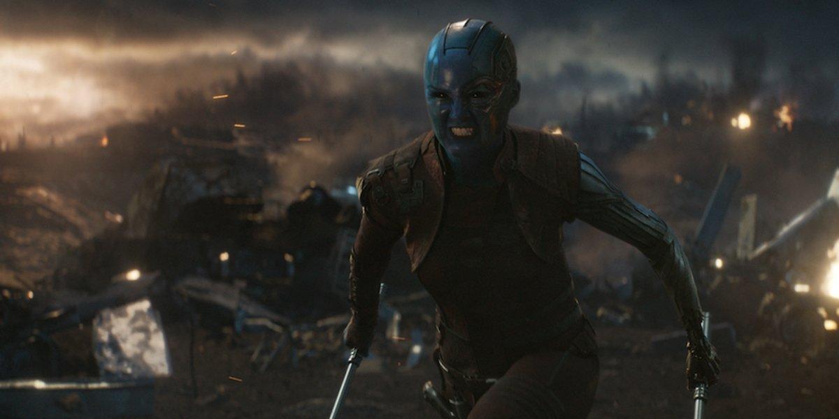 Nebula in Avengers: Endgame