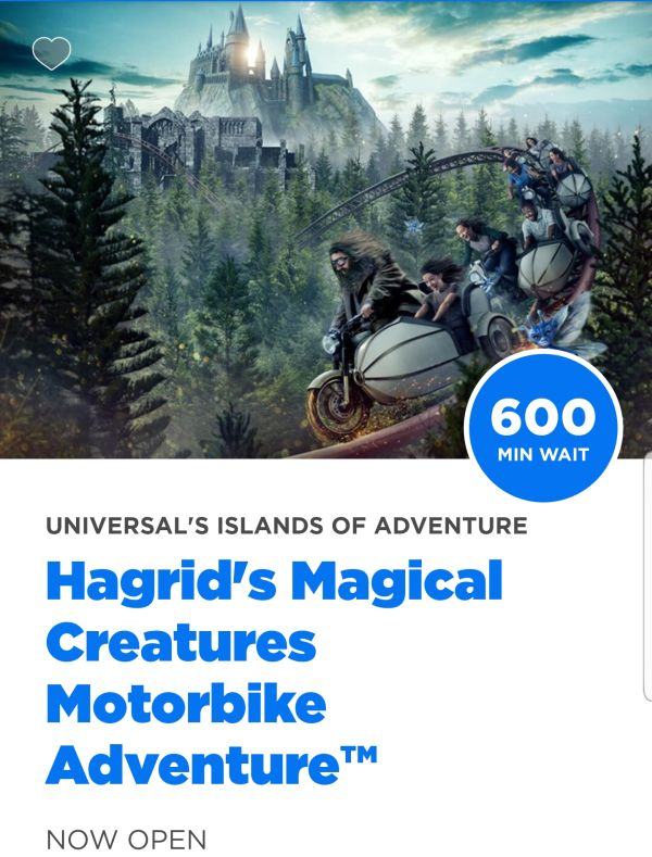 The Wizarding World's New Hagrid Roller Coaster Has An