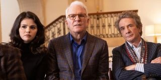 Selena Gomez, Steve Martin, and Martin Short in Only Murders in the Building