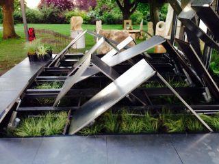 High-Tech Garden's Mechanical Landscape