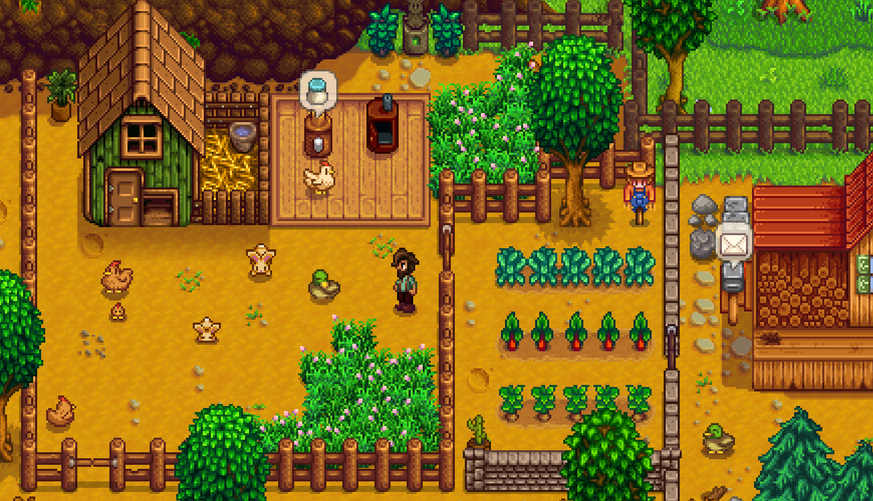 This Stardew Valley mod lets you have a best friend instead of a wife