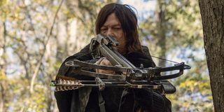 Daryl Dixon on _The Walking Dead._