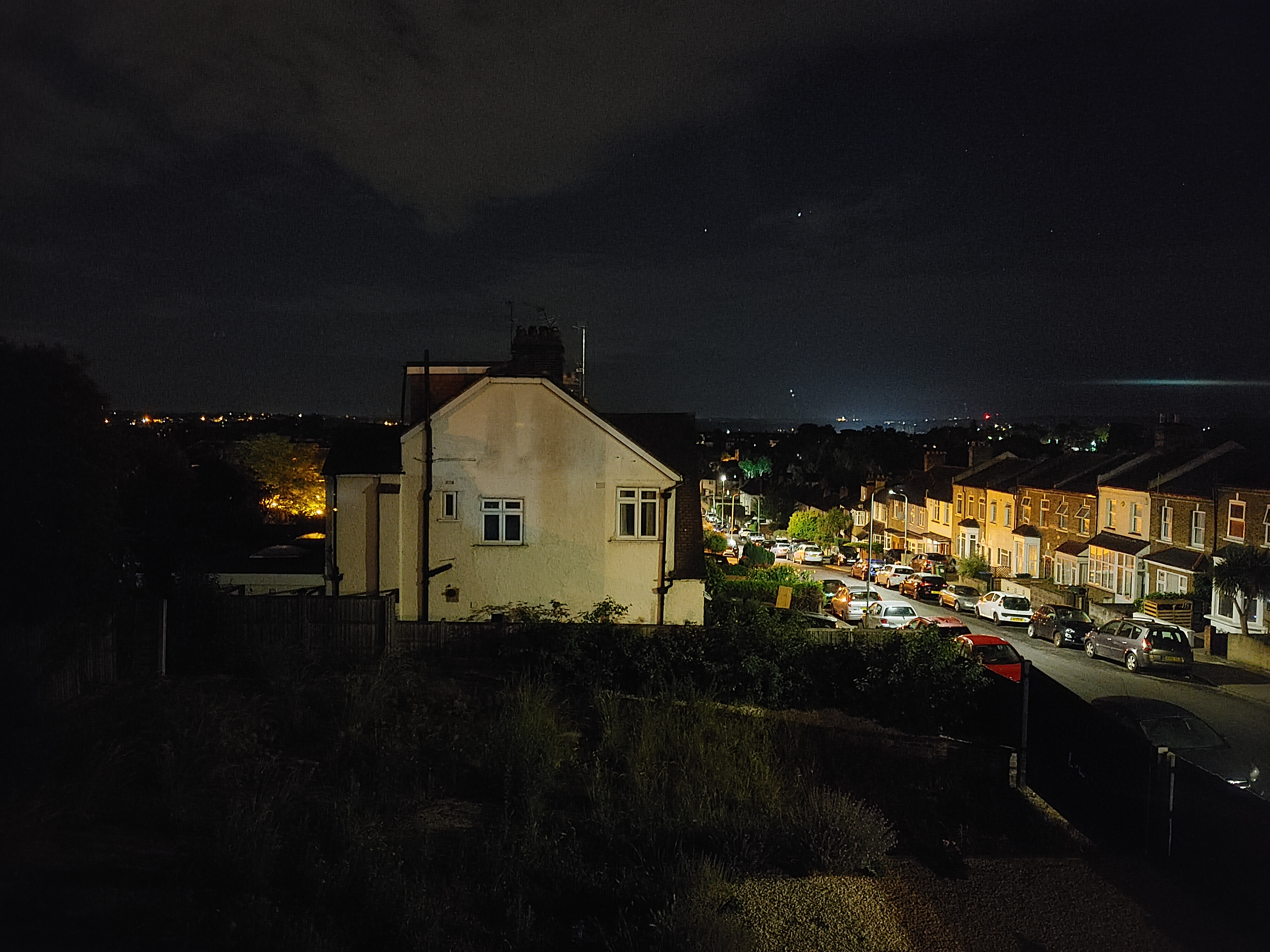 Low-light images are solid enough, but do not have the dynamic range or detail of a truly great night phone camera.