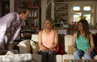 Held hostage! Jasmine, Leah and Ryder suffer a terrifying encounter with stalker David…