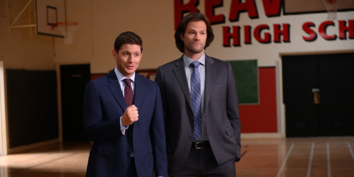 supernatural season 15 sam and dean winchester the cw