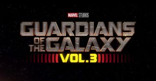 The Guardians of the Galaxy Vol. 3 logo with Marvel Studios branding