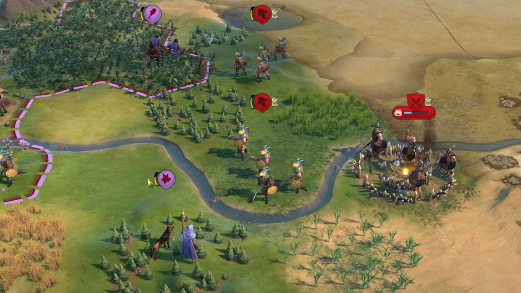 Civilisation 6 will finally let you talk to Barbarians in this month's free update