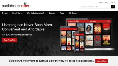 AudiobooksNow review