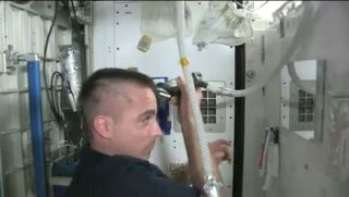 How to Shave Your Head in Space
