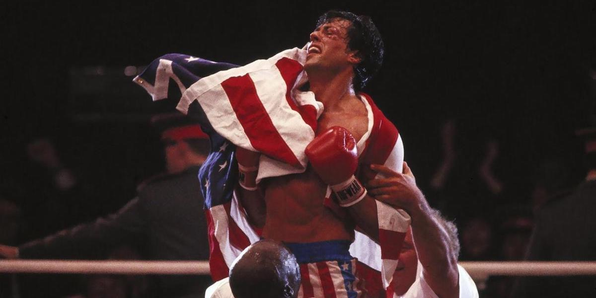 Sylvester Stallone in Rocky 4