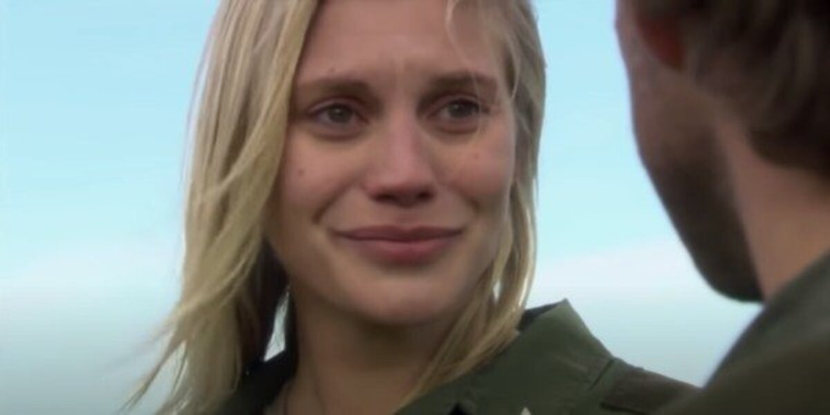battlestar galactica series finale katee sackhoff starbuck screenshot