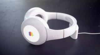 Apple headphones render