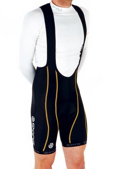 Skins compression shorts