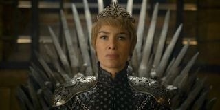 Cersei on the Iron Throne