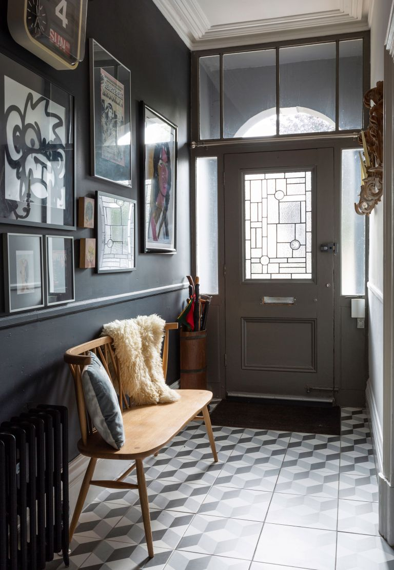 Grey Hallway Ideas 21 Classic Ways To Decorate Your Hall Real Homes