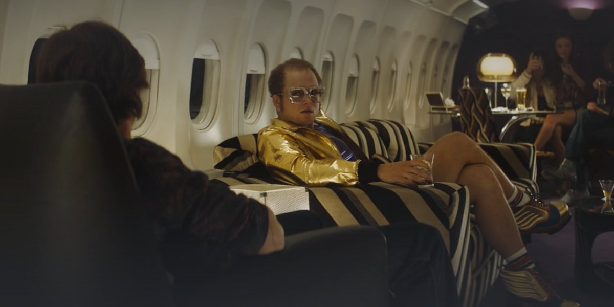 Taron Egerton in Rocketman