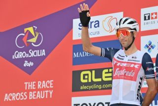 Vincenzo Nibali (Trek-Segafredo) at the Giro di Sicilia