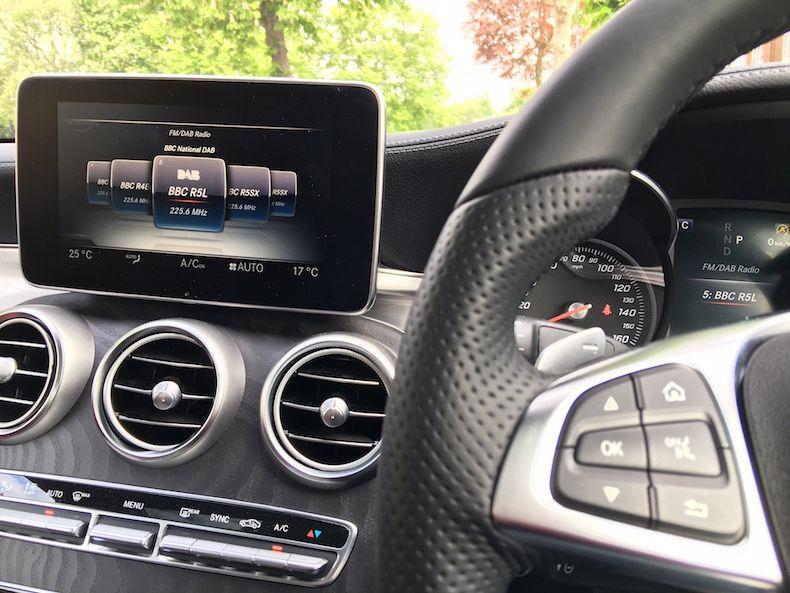 Burmester Surround Sound System (Mercedes-Benz C-Class