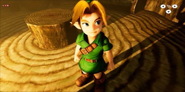 Check Out Legend Of Zelda: Ocarina Of Time In Unreal Engine