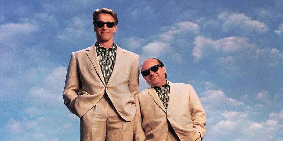 Arnold Schwarzenegger and Danny Devito Twins poster