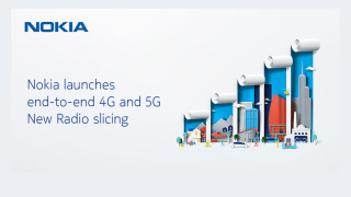 Nokia 5G network slicing announcement.