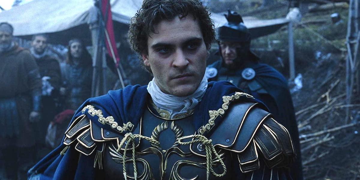 Joaquin Phoenix in Gladiator