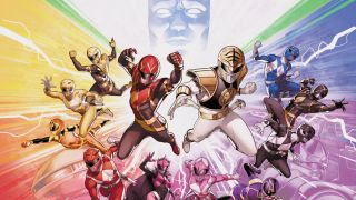 box art for Mighty Morphin Power Rangers Complete Comic Book Collection