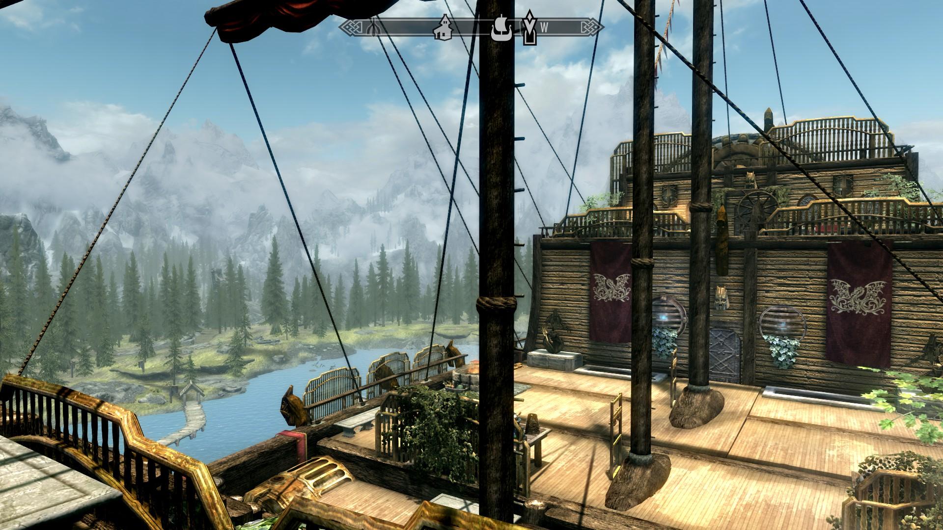 Skyrim Special Edition mod - Asteria Dwemer Airship