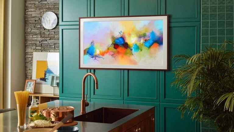 best 40 inch TV: Samsung the Frame 2021